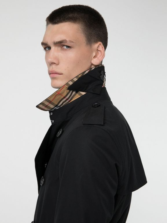 The Chelsea - Trench coat Heritage (Preto) - Homens | Burberry - cell image 1