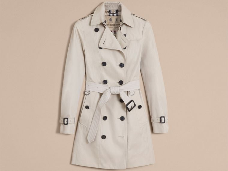 Stone The Sandringham – Mid-Length Heritage Trench Coat Stone - cell image 4