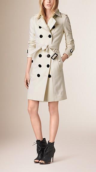 Trench-coat en cachemire de coupe Sandringham