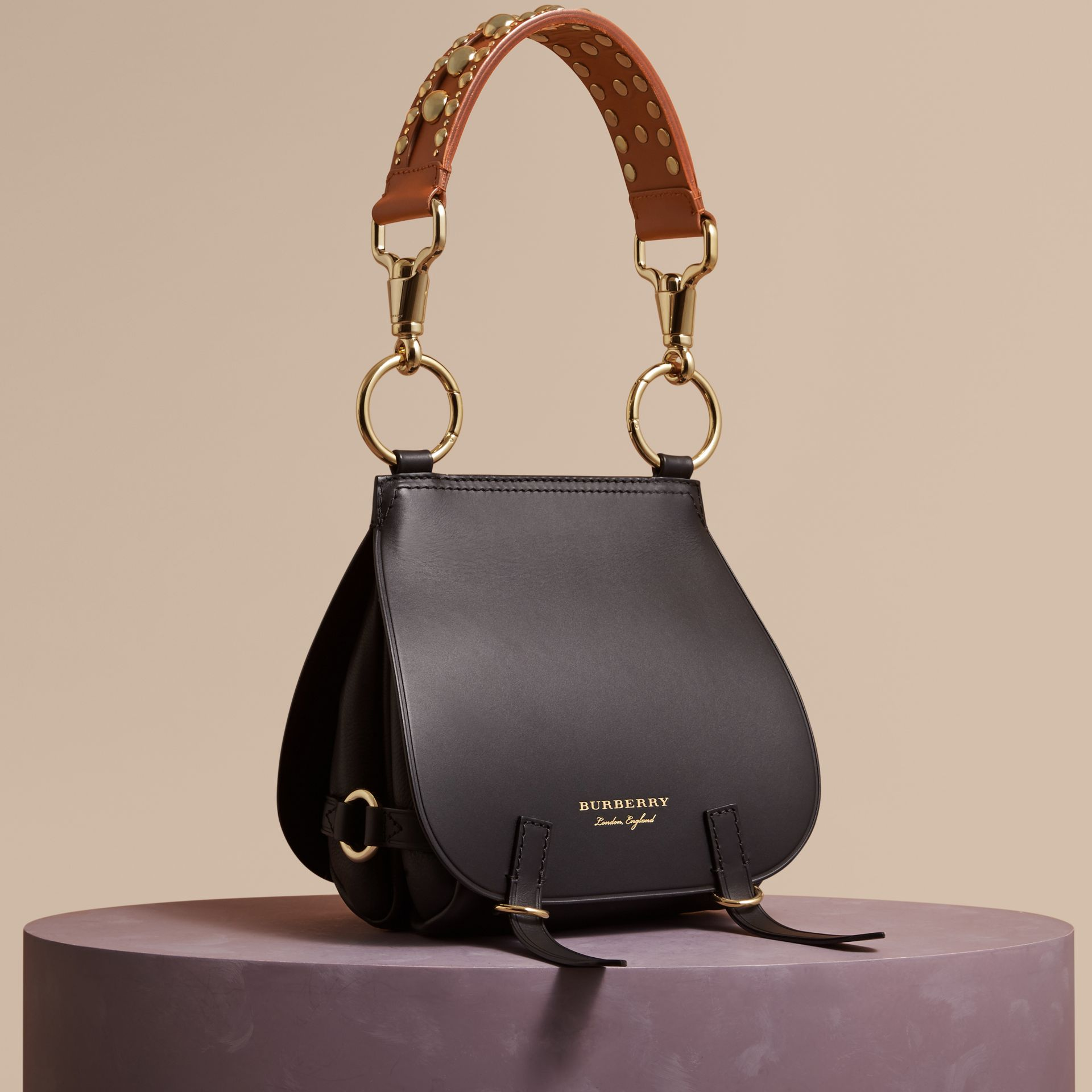 Black The Bridle Bag in Leather - gallery image 1