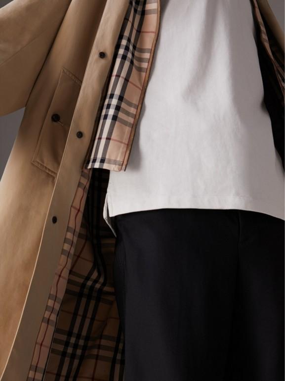 Paletot reconstitué Gosha x Burberry (Miel) - Homme | Burberry Canada - cell image 1