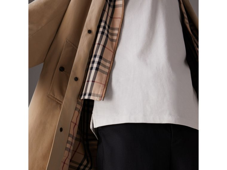 Gosha x Burberry Reconstructed Car Coat in Honey | Burberry Australia - cell image 1