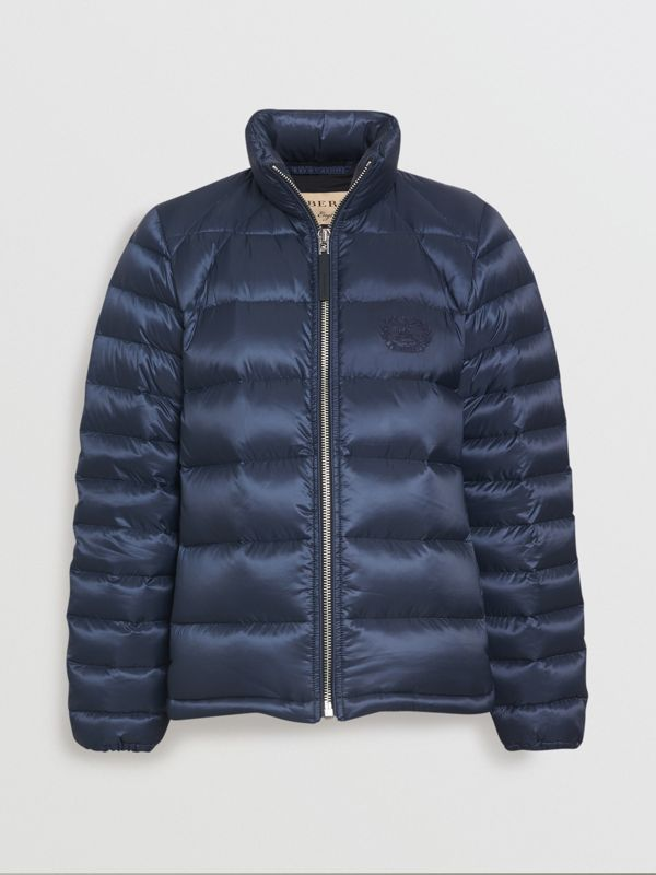 Down-filled Puffer Jacket in Navy - Women | Burberry United States - cell image 2