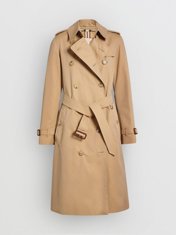 The Kensington - Trench coat Heritage longo (Mel) - Mulheres | Burberry - cell image 3