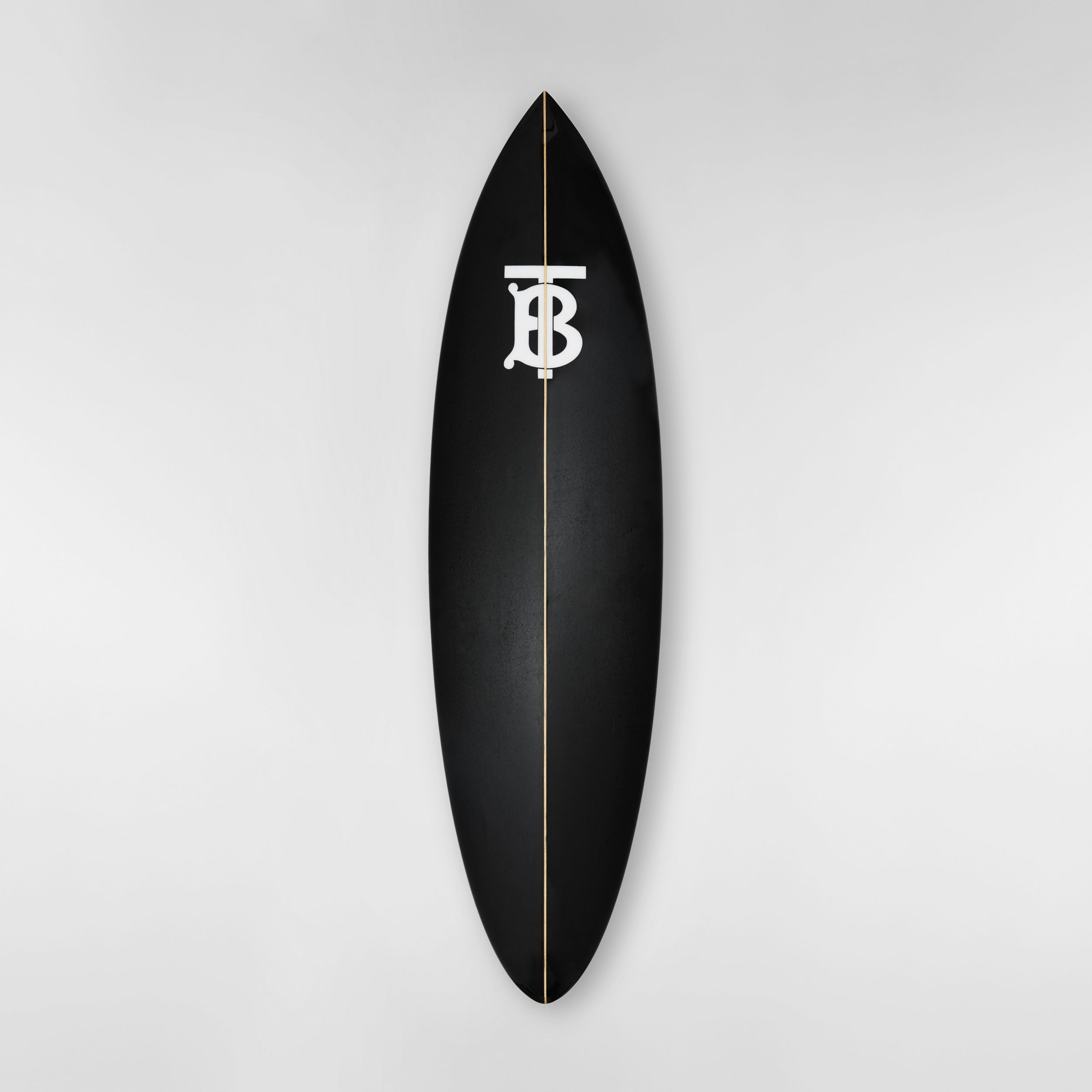 Monogram Motif Surfboard in Graphite | Burberry - 1