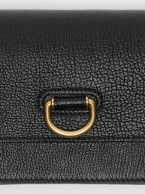 The Mini Leather D-ring Bag in Black - Women | Burberry Singapore - cell image 1