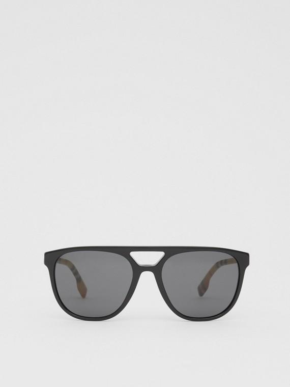 Солнцезащитные очки «навигаторы» (Черный)