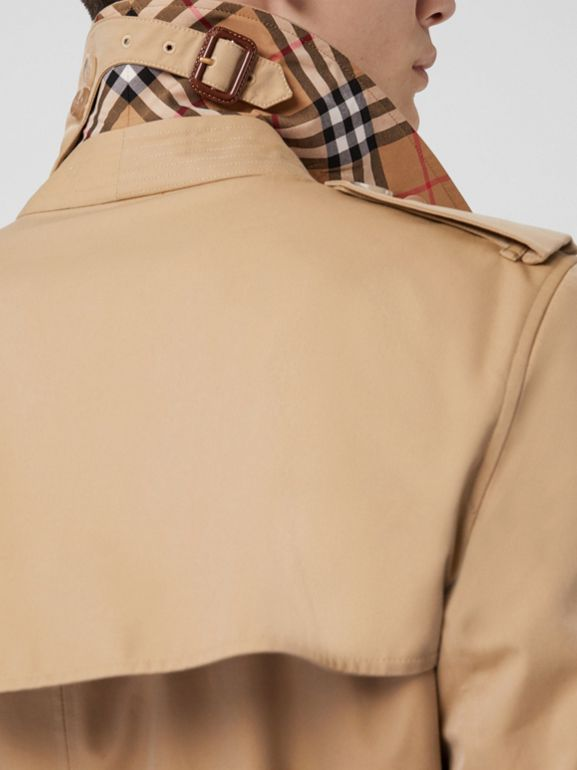 The Kensington Heritage Trench Coat in Honey - Men | Burberry Singapore - cell image 1