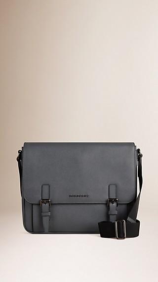 London Leather Messenger Bag