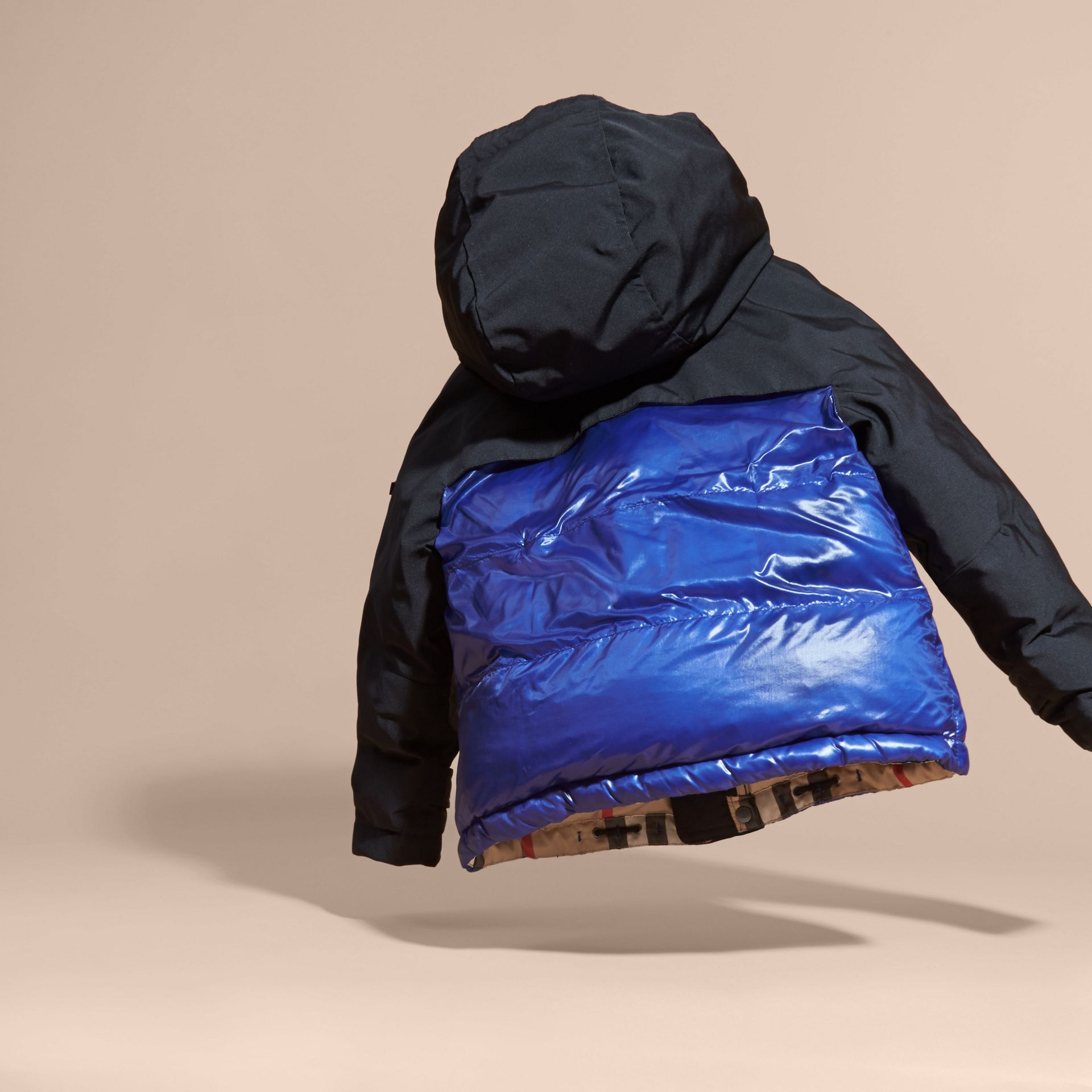Shower-resistant Down-filled Puffer Coat - gallery image 4