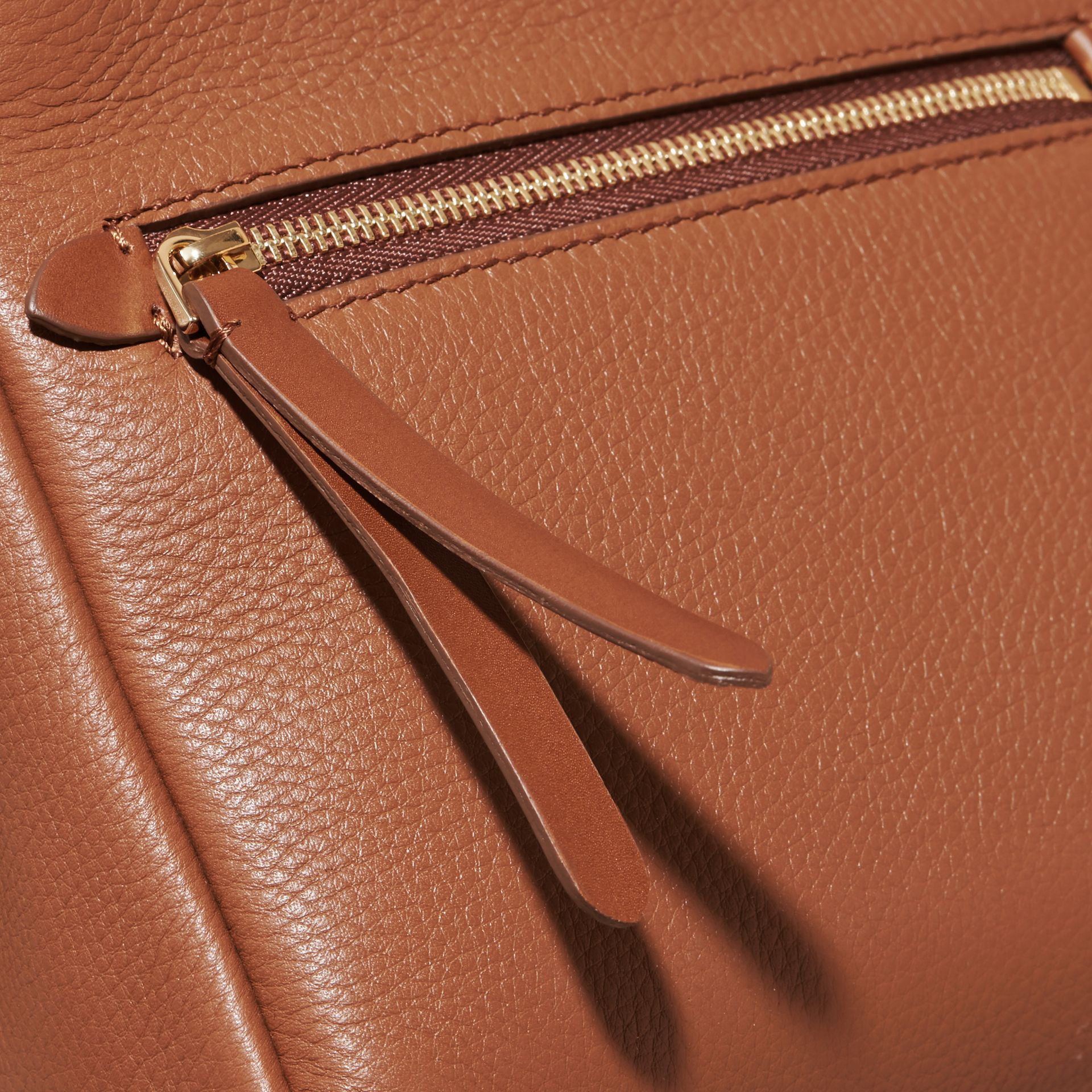 The Baby Bridle Bag in Leather Tan - gallery image 6