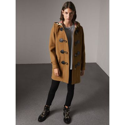 The Mersey Duffle Coat in Mid Camel - Women | Burberry United States