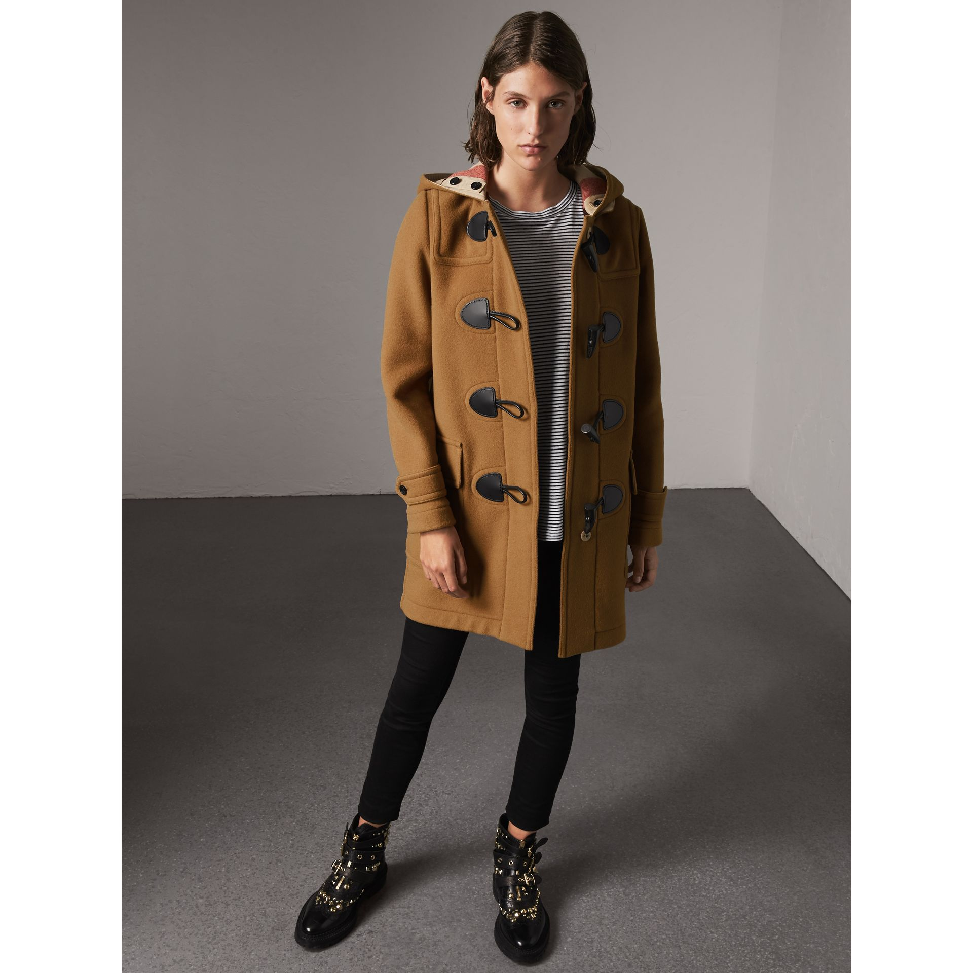 Duffle-coat The Mersey (Camel Moyen) - Femme | Burberry - photo de la galerie 1