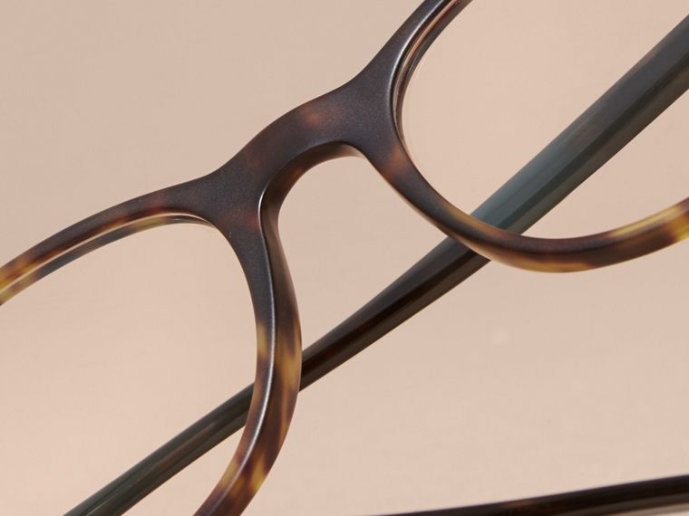 Square Optical Frames Tortoise Shell - cell image 4