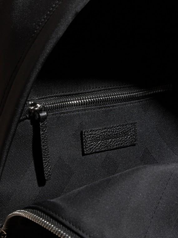 Noir Sac à dos en nylon avec éléments en cuir Noir - cell image 3