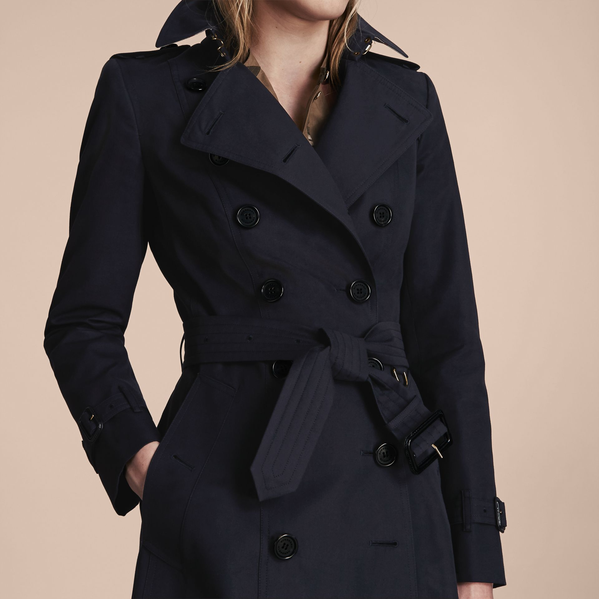 Marine Trench-coat Heritage extra-long The Chelsea Marine - photo de la galerie 5
