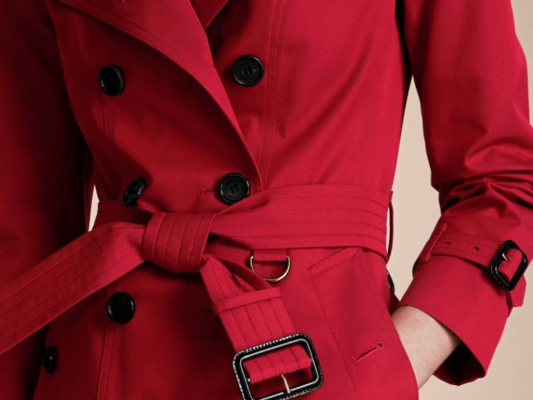 Parade red The Sandringham – Mid-length Heritage Trench Coat Parade Red - cell image 4