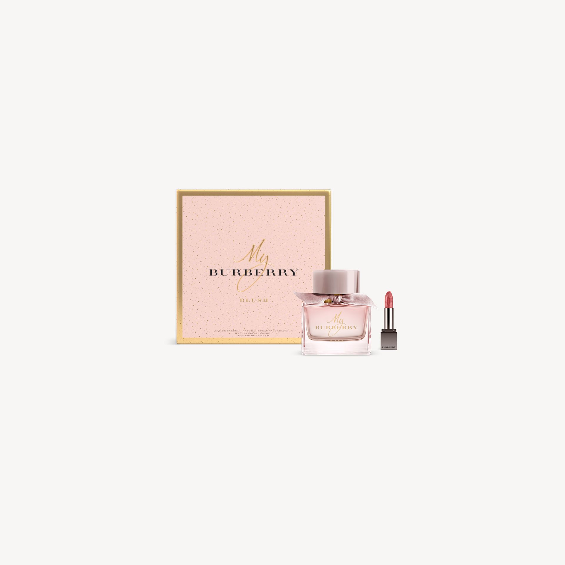 My Burberry Blush Eau de Parfum Festive Blush Look Set in No Colour - Women | Burberry - gallery image 0