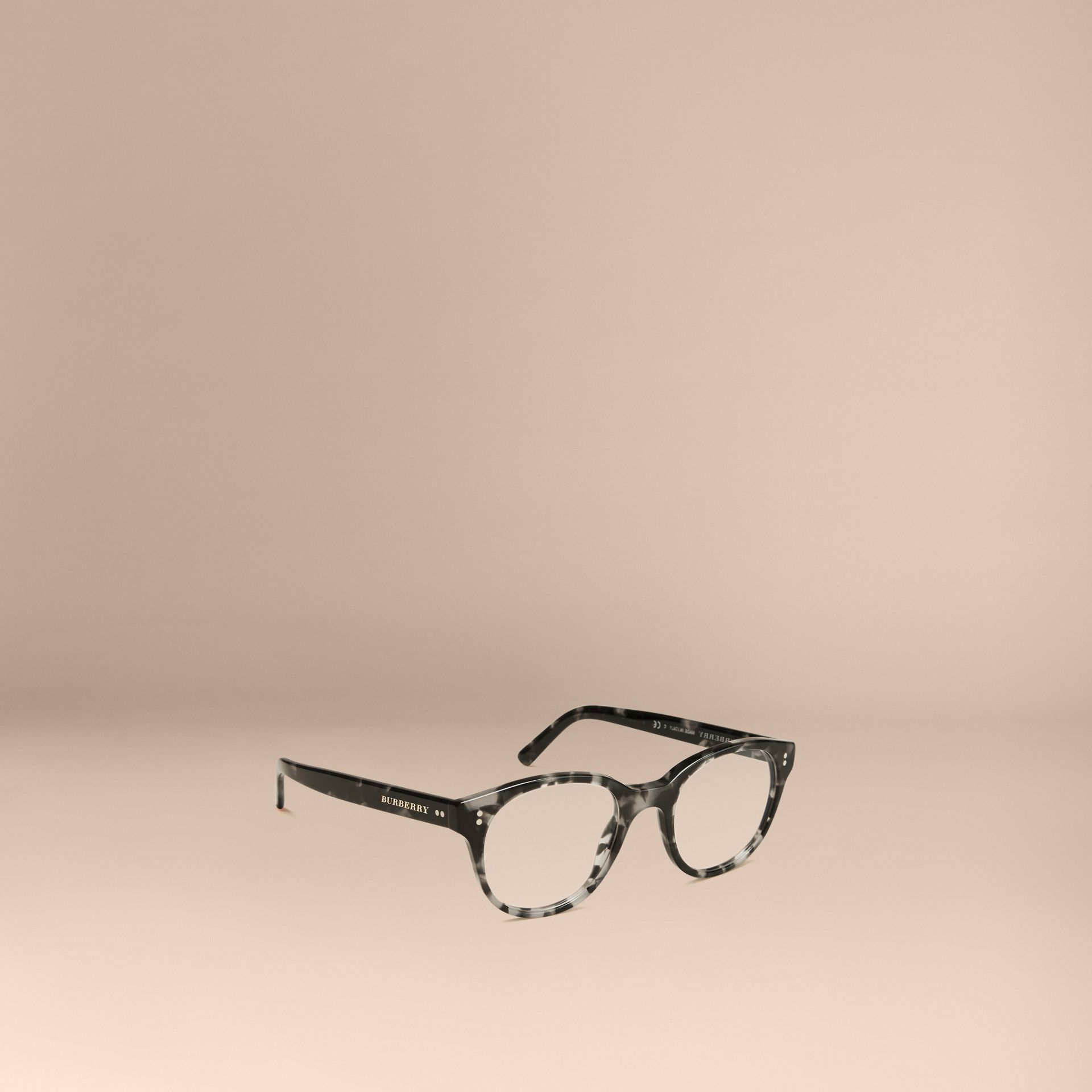 Grey Round Optical Frames Grey - gallery image 1