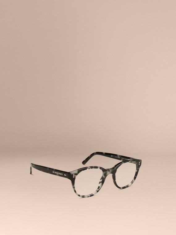 Round Optical Frames Grey