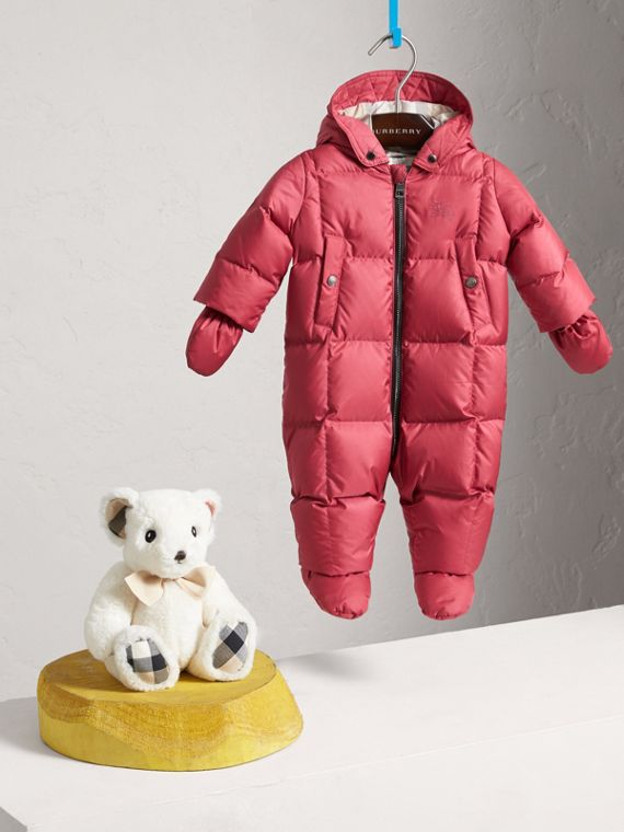 Down-filled Puffer Suit in Peony Rose | Burberry - cell image 2