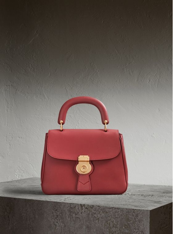 The Medium DK88 Top Handle Bag Antique Red