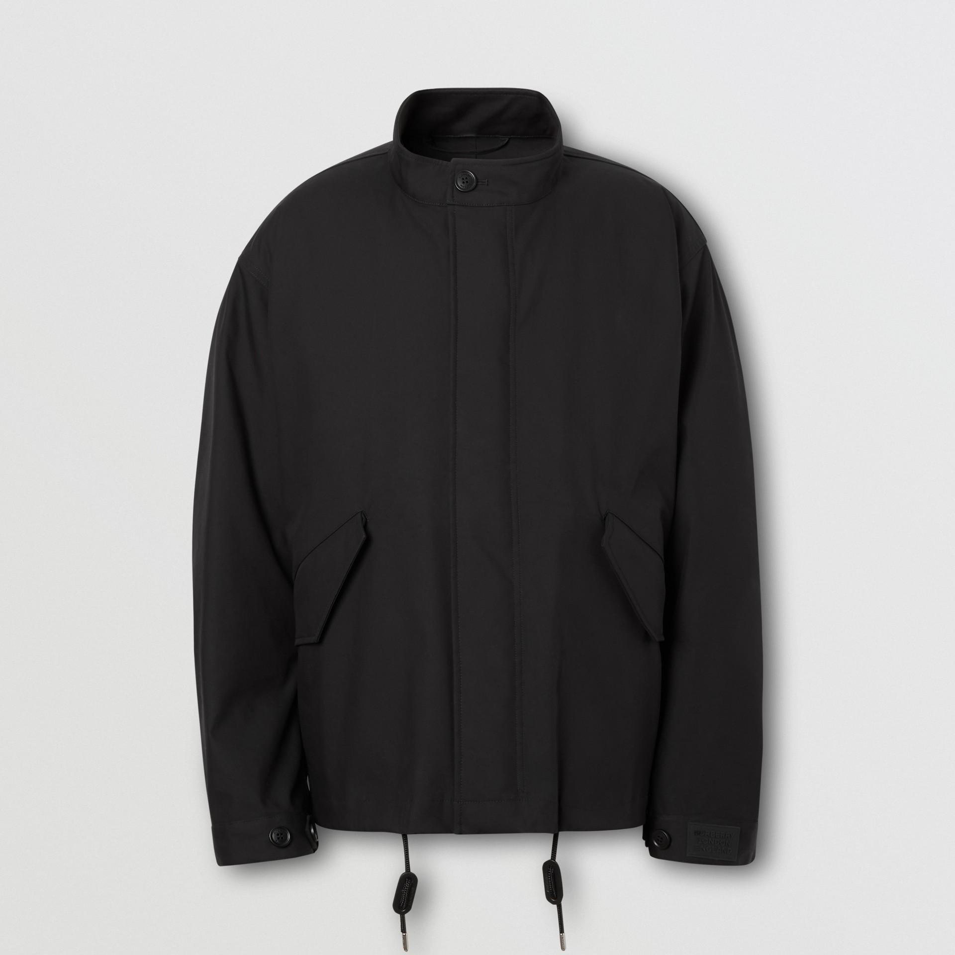 Veste en coton contrecollé avec gilet intérieur amovible (Noir) - Homme | Burberry - photo de la galerie 3