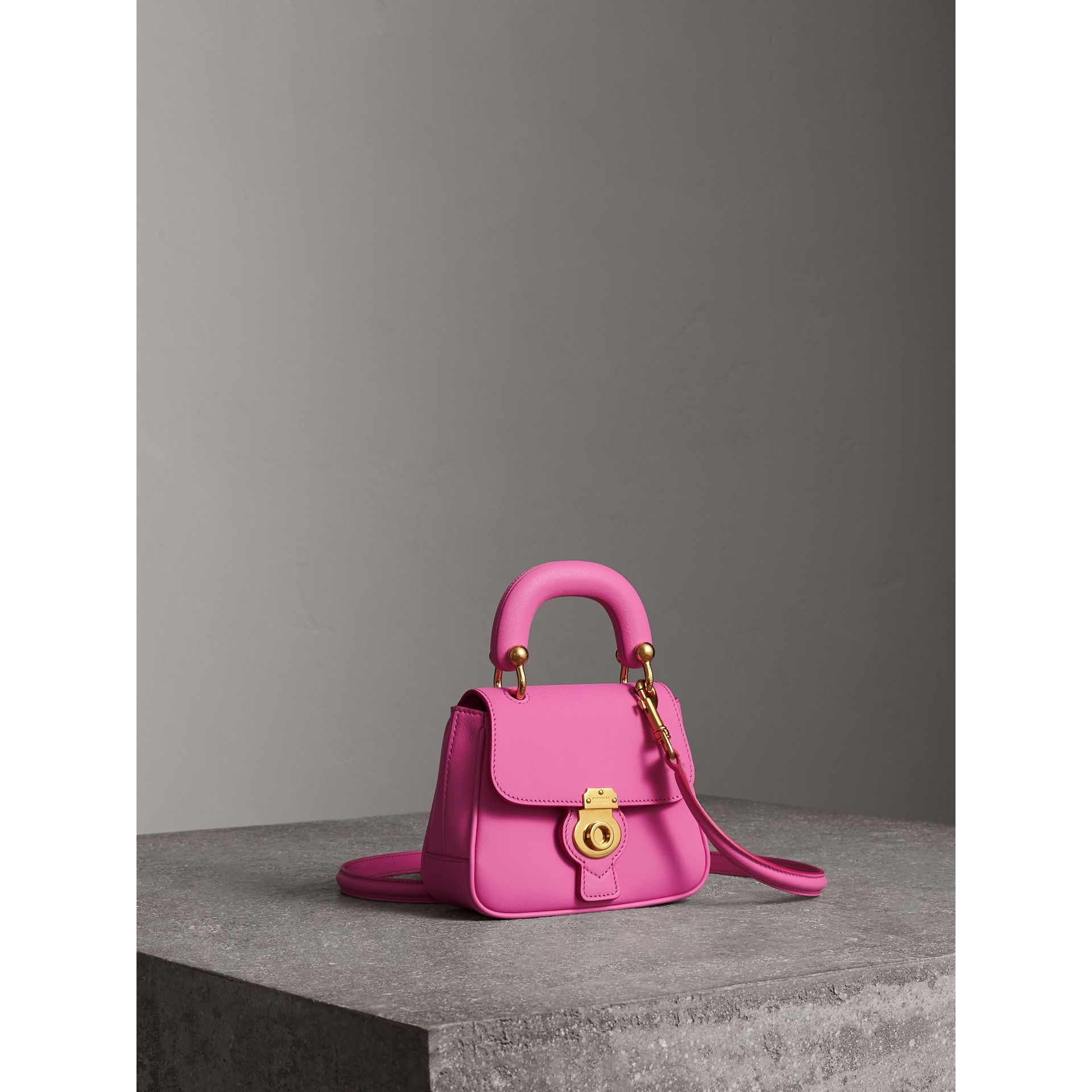 The Mini DK88 Top Handle Bag in Rose Pink - Women | Burberry United Kingdom - gallery image 6
