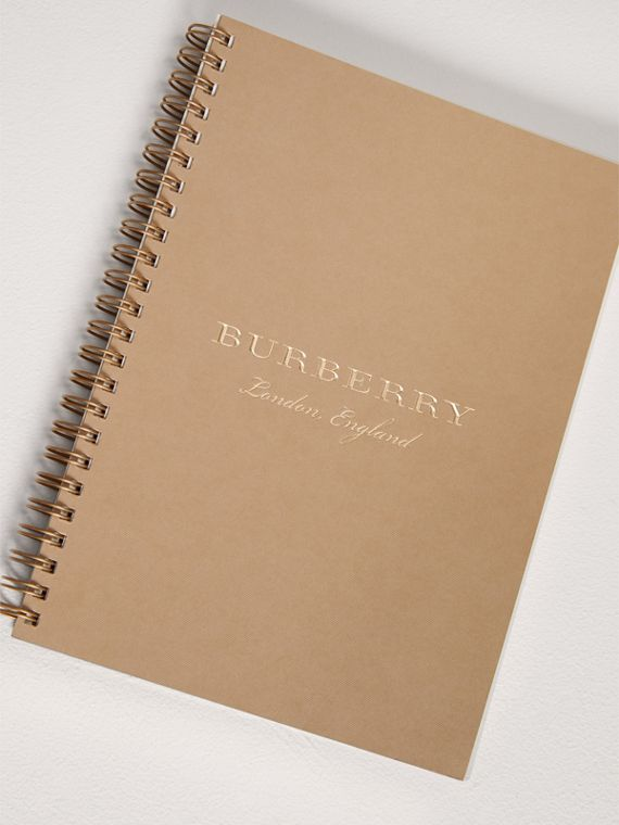 2018 A5 Diary Refill in Honey | Burberry United Kingdom - cell image 2
