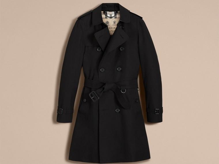 Noir The Kensington – Trench-coat Heritage long Noir - cell image 4