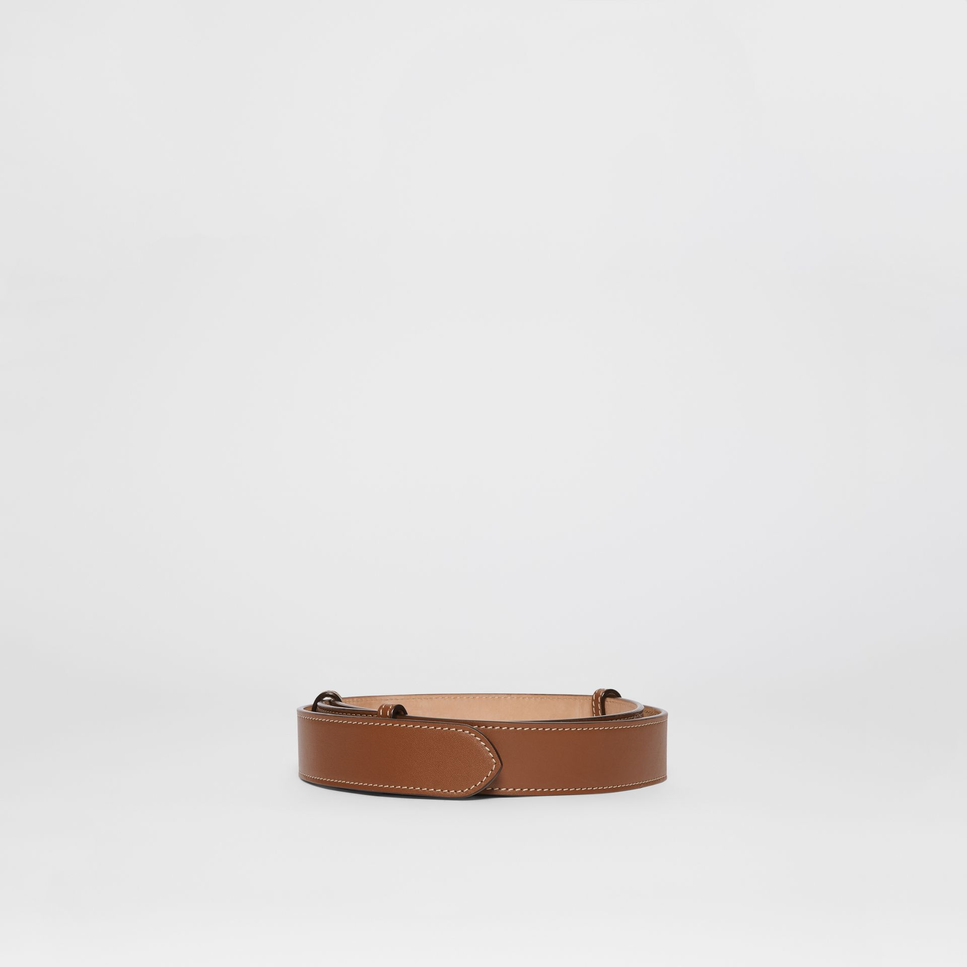Triple Stud Leather Belt in Tan - Women | Burberry - gallery image 4