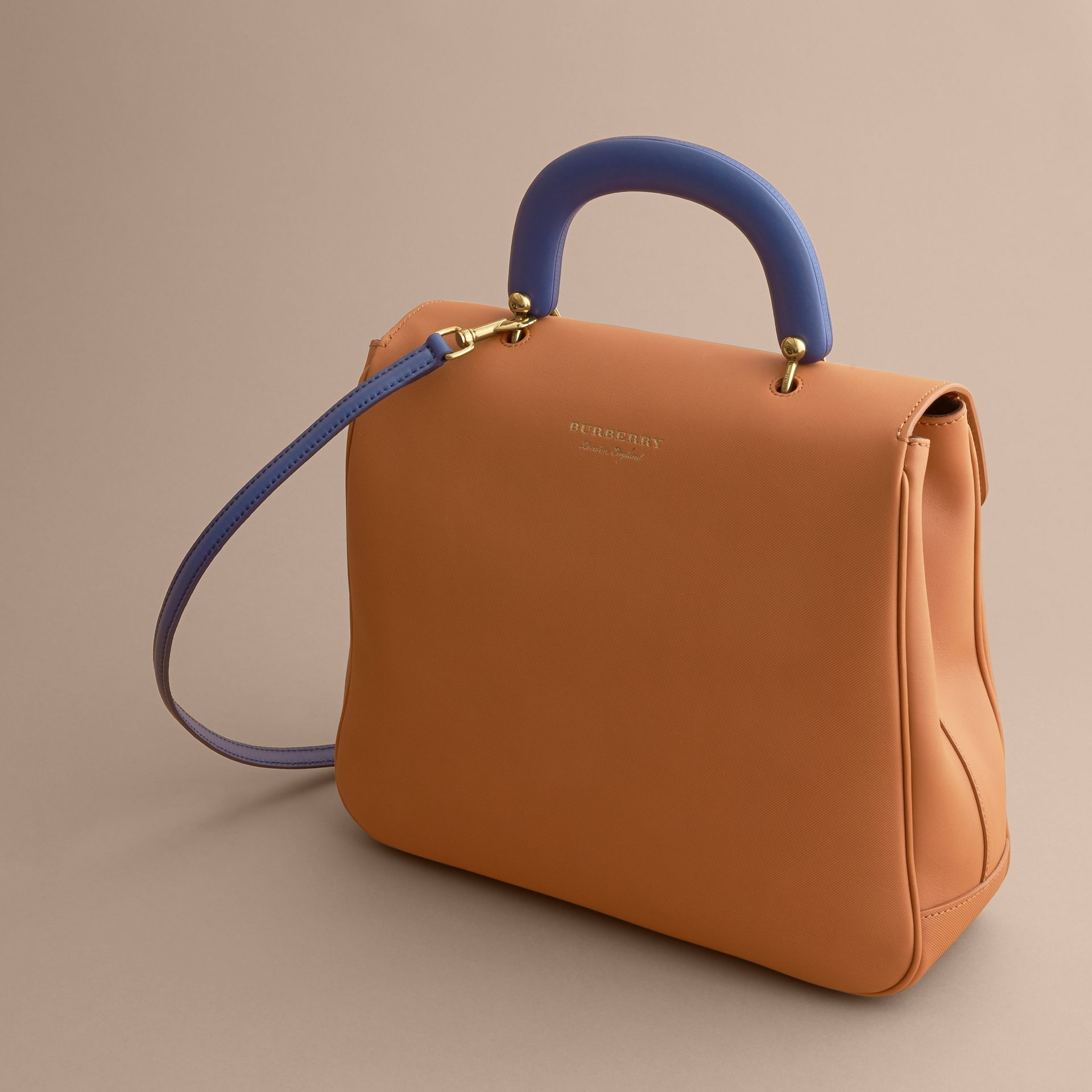 The Large DK88 Top Handle Bag Bright Toffee - gallery image 5