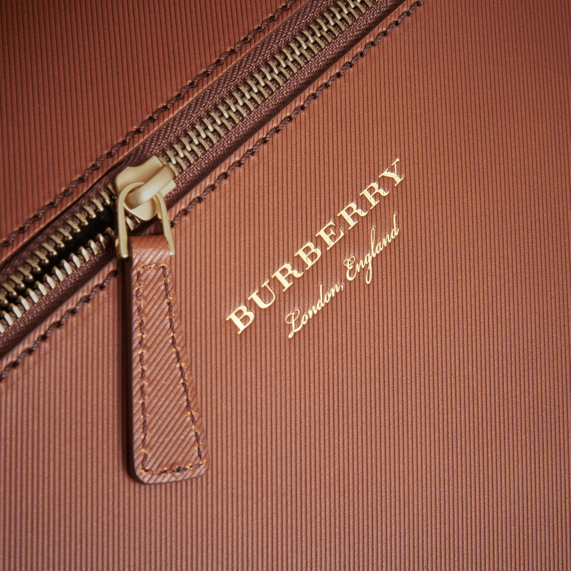 The Large DK88 Document Case in Tan - Men | Burberry - gallery image 2
