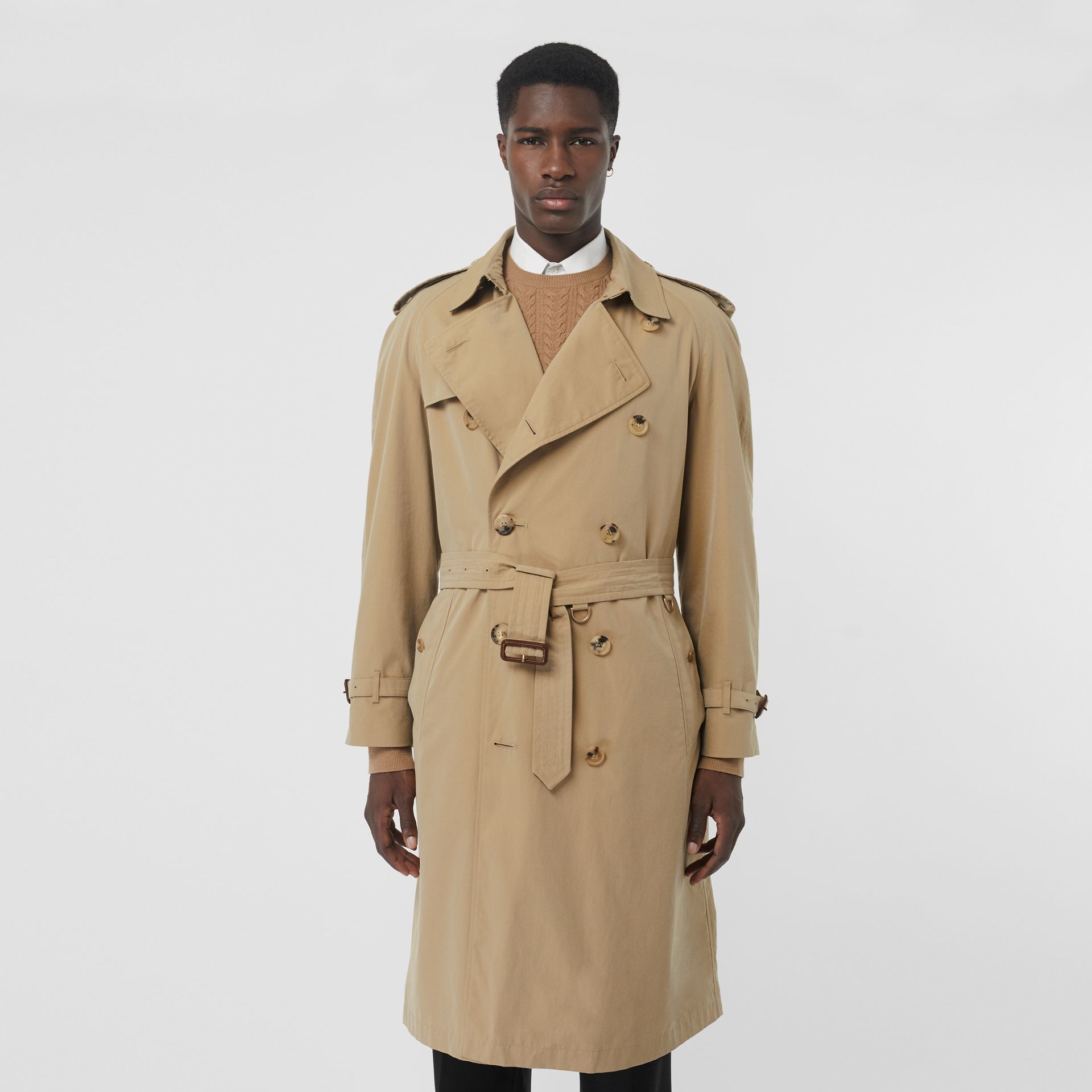 The Westminster Heritage Trench Coat in Honey - Men | Burberry - gallery image 6