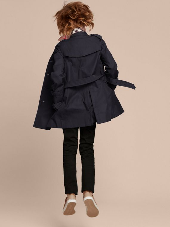 The Wiltshire – Heritage Trench Coat Navy - cell image 3