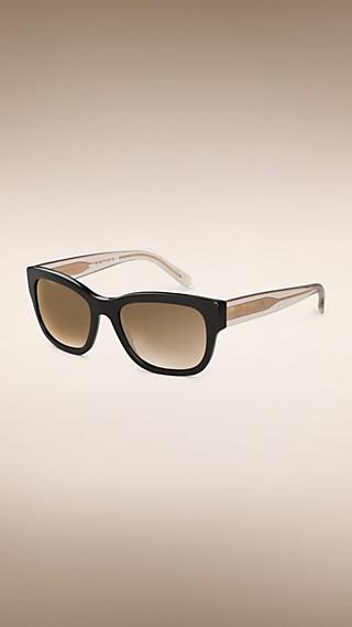 Gafas de sol con montura cuadrada de la colección Trench coat