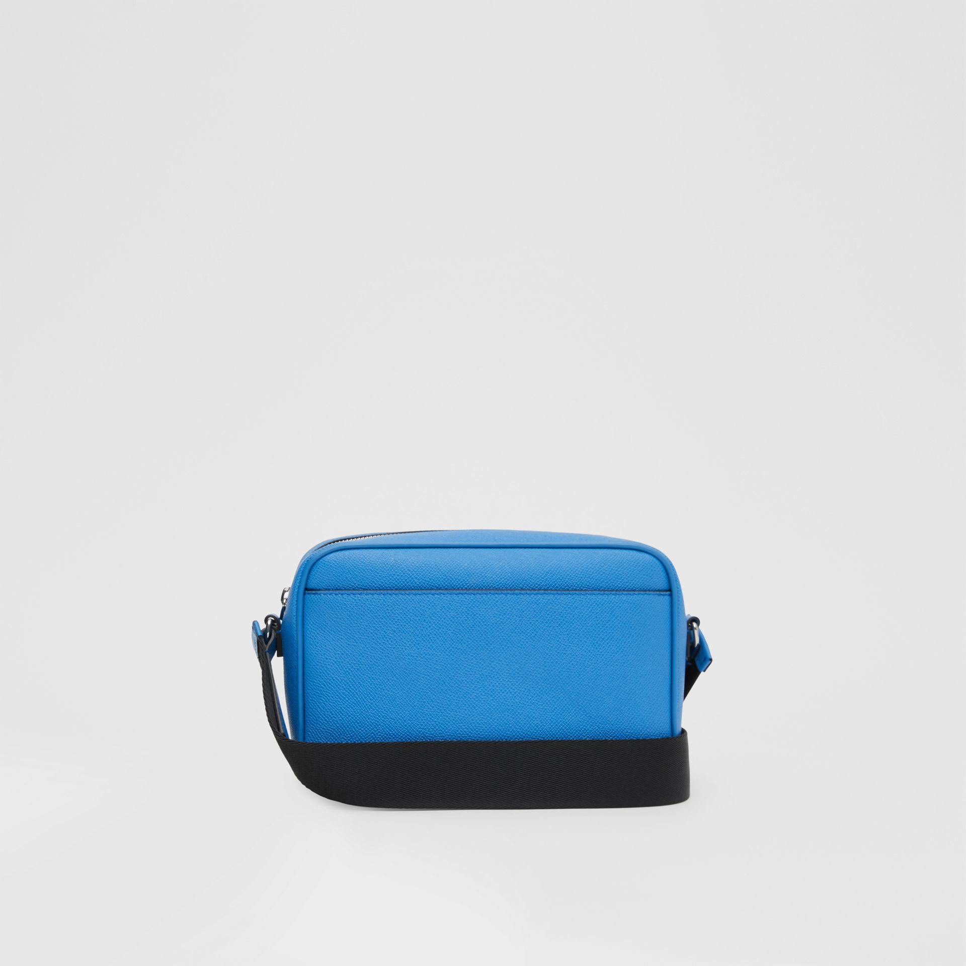 Grainy Leather Crossbody Bag in True Blue - Men | Burberry United Kingdom - gallery image 5
