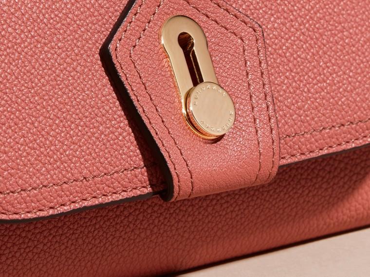 Rose cuivre Portefeuille continental en cuir texturé Rose Cuivre - cell image 1