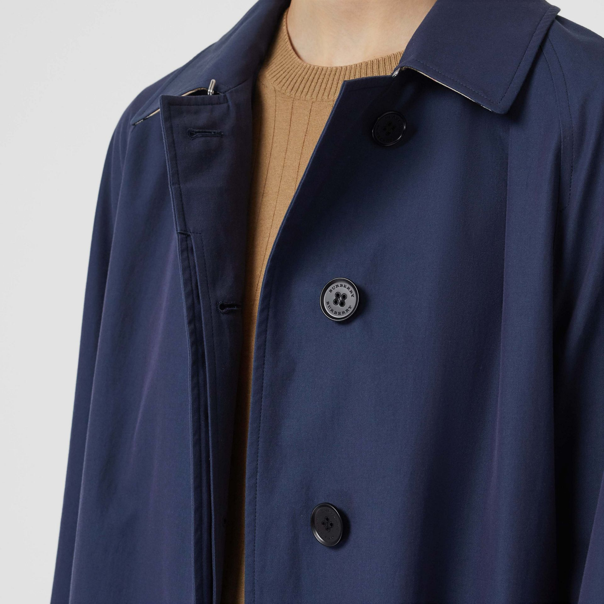 The Camden Car Coat in Dark Sapphire - Women | Burberry - gallery image 5