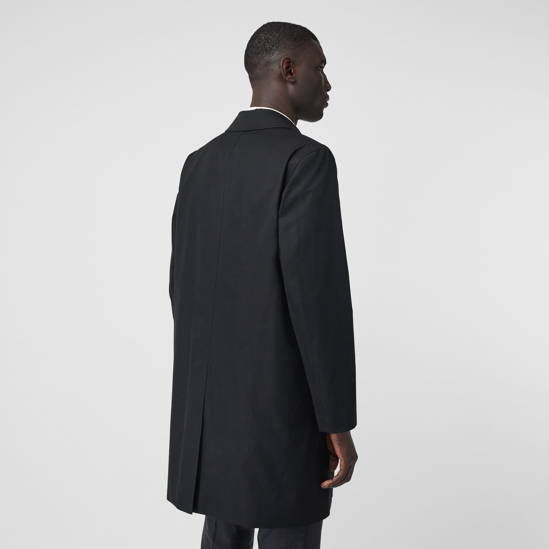 The Pimlico Car Coat in Black - Men | Burberry - gallery image 2