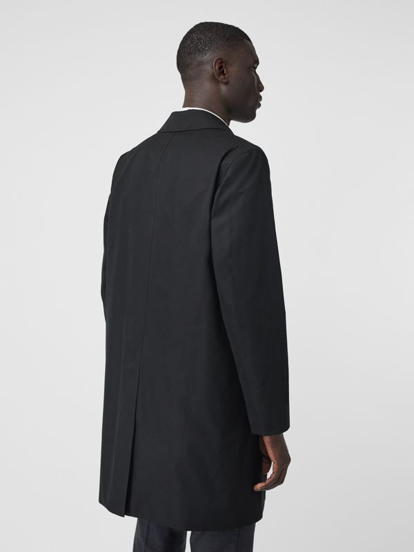 The Pimlico Heritage Car Coat in Black - Men | Burberry - cell image 2