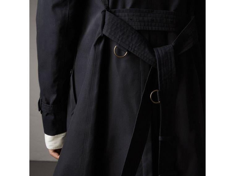 The Sandringham – Long Trench Coat in Navy - Men | Burberry - cell image 4