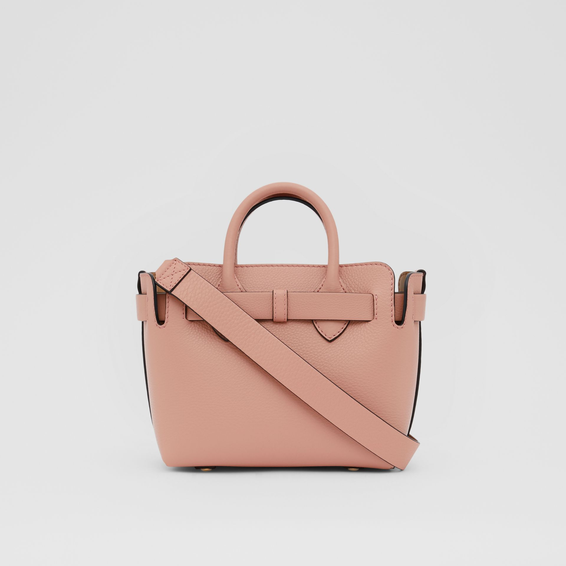 The Mini Leather Triple Stud Belt Bag in Ash Rose - Women | Burberry - gallery image 7