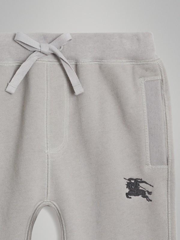 Pantalon de survêtement en jersey de coton (Camaïeu  Gris Craie) | Burberry - cell image 3