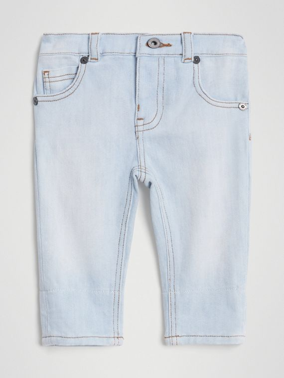 Jean casual en denim stretch (Bleu Clair)