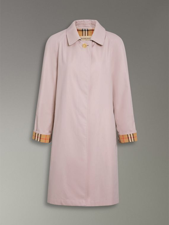 The Camden Car Coat in Ice Pink - Women | Burberry - cell image 3
