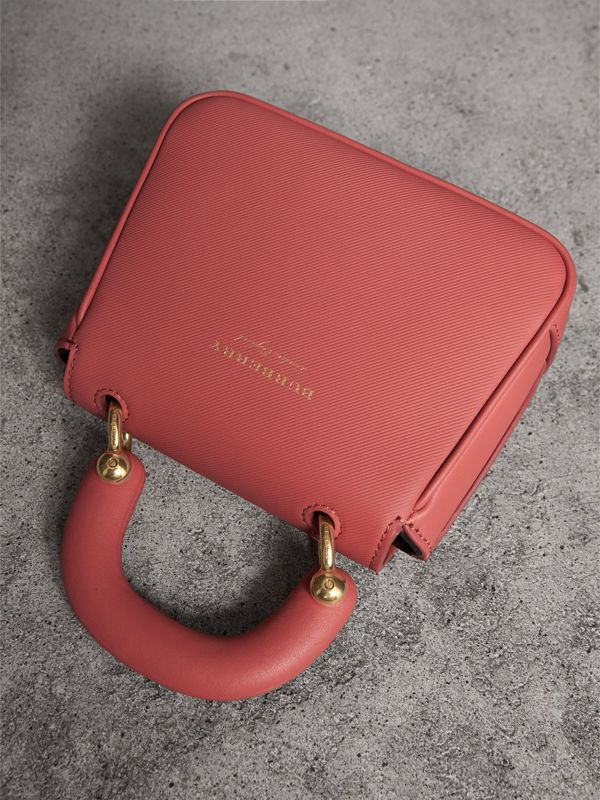 The Mini DK88 Top Handle Bag in Blossom Pink - Women | Burberry - cell image 3