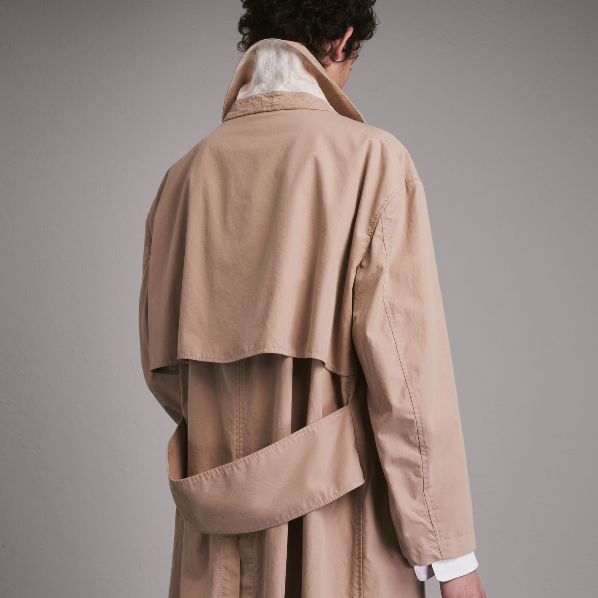 Unisex Tropical Gabardine Car Coat - Women | Burberry - gallery image 5