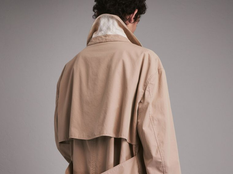 Unisex Tropical Gabardine Car Coat - Women | Burberry - cell image 4