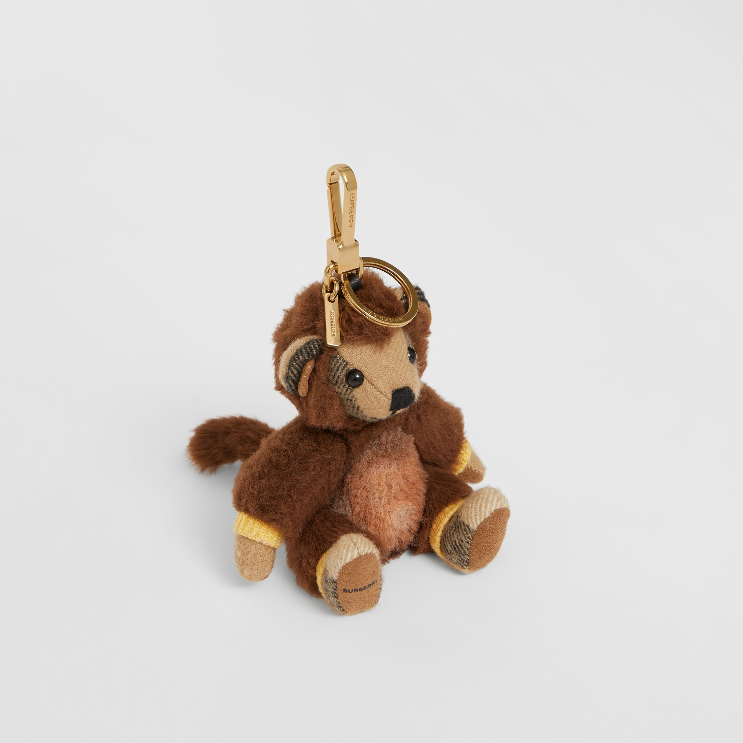 Thomas Bear Charm in Monkey Costume in Archive Beige | Burberry - 1
